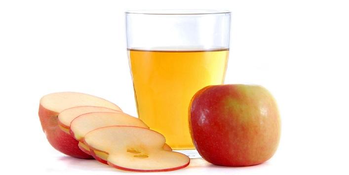 Sour apple juice