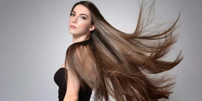 काले घने सुंदर बाल