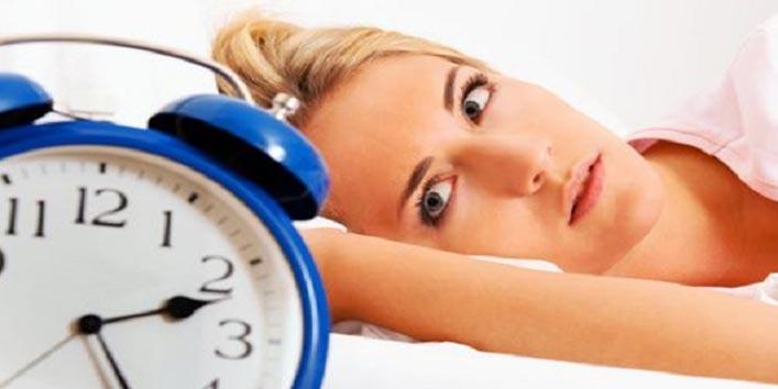 नींद का पूरा ना होना