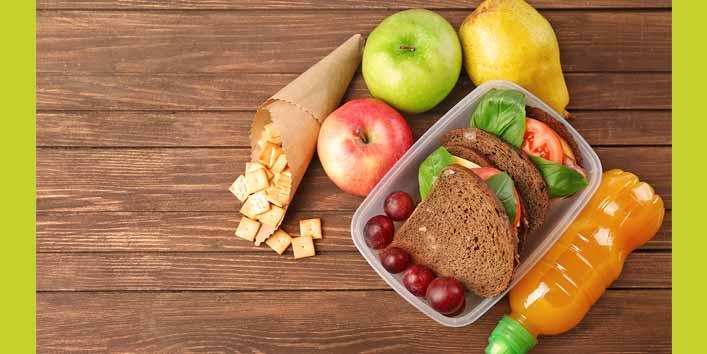 अपना नाश्ते और पानी खुद से तैयार करें