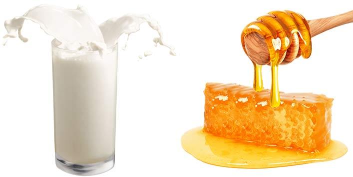 दूध और शहद